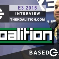 BasedGamer Interviews Tony Polanco During E3 2015 | The Koalition